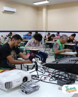 Instituto Comradio do Brasil inicia curso de Rádio e TV em Floriano-PI - Foto 48