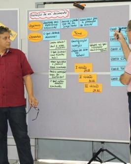 Organizações da Rede Ponte participam de oficina sobre Gestão do Conhecimento em Organizações Sociais - Foto 68