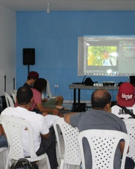 IComradio através do Projeto Jovens Radialistas do Semiárido realiza módulo de fotografia em Oeiras - PI  - Foto 58
