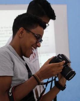 IComradio através do Projeto Jovens Radialistas do Semiárido realiza módulo de fotografia em Oeiras - PI  - Foto 32