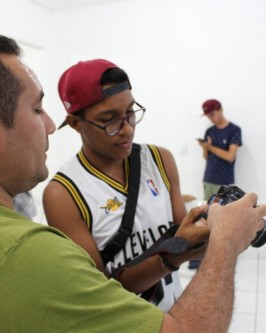 IComradio através do Projeto Jovens Radialistas do Semiárido realiza módulo de fotografia em Oeiras - PI  - Foto 60