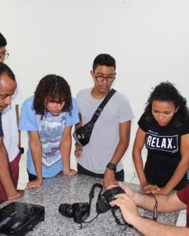 IComradio através do Projeto Jovens Radialistas do Semiárido realiza módulo de fotografia em Oeiras - PI  - Foto 34