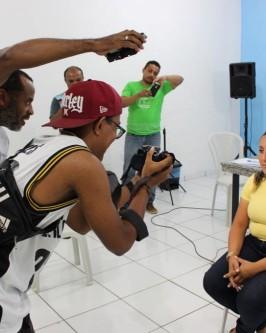 IComradio através do Projeto Jovens Radialistas do Semiárido realiza módulo de fotografia em Oeiras - PI  - Foto 61