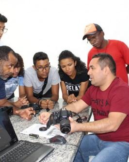 IComradio através do Projeto Jovens Radialistas do Semiárido realiza módulo de fotografia em Oeiras - PI  - Foto 35
