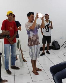 IComradio através do Projeto Jovens Radialistas do Semiárido realiza módulo de fotografia em Oeiras - PI  - Foto 62