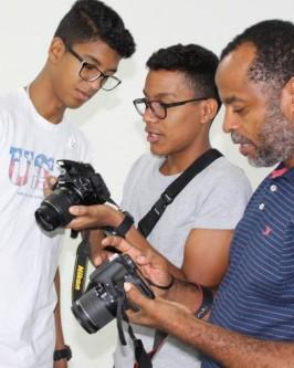 IComradio através do Projeto Jovens Radialistas do Semiárido realiza módulo de fotografia em Oeiras - PI  - Foto 36