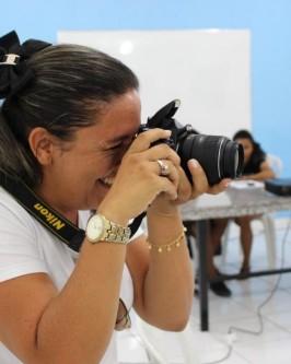 IComradio através do Projeto Jovens Radialistas do Semiárido realiza módulo de fotografia em Oeiras - PI  - Foto 37