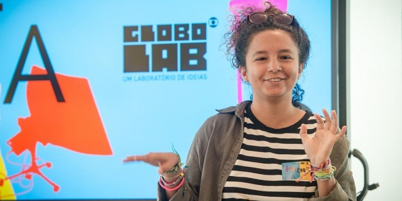 Milena Rocha, ex-aluna do IComradio é uma das participantes do Globo Lab Profissão Repórter 2019