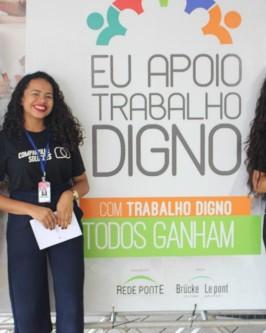 """Rede Ponte e Bruck le Pont promovem seminário internacional com o tema """"Um outro mundo do trabalho é possível"""" - Foto 11"""