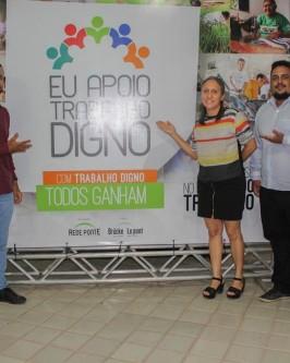 """Rede Ponte e Bruck le Pont promovem seminário internacional com o tema """"Um outro mundo do trabalho é possível"""" - Foto 43"""