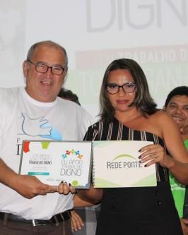 """Rede Ponte e Bruck le Pont promovem seminário internacional com o tema """"Um outro mundo do trabalho é possível"""" - Foto 66"""