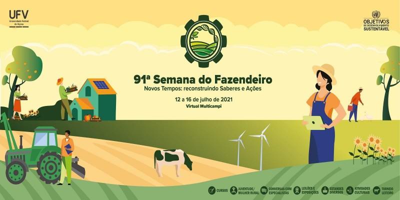Ubíqua ministrará oficina Tecnologia Digital e Comunicação Colaborativa na Semana do Fazendeiro da UFV