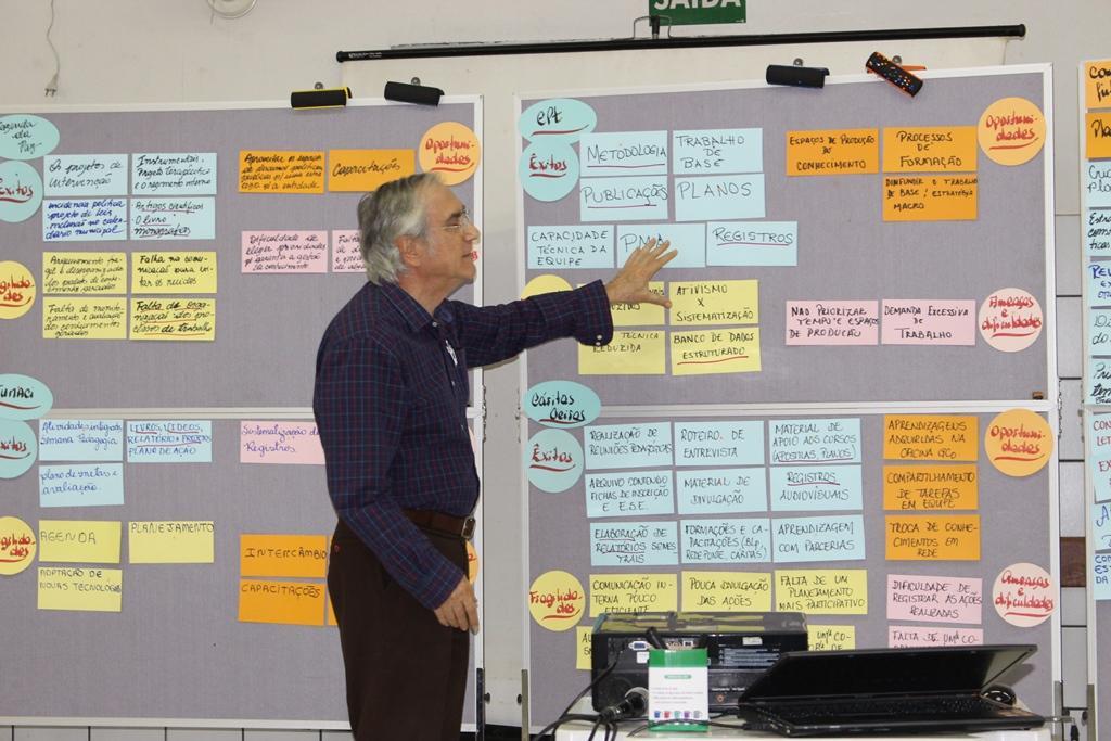 Organizações da Rede Ponte participam de oficina de Gestão do Conhecimento (2º dia)