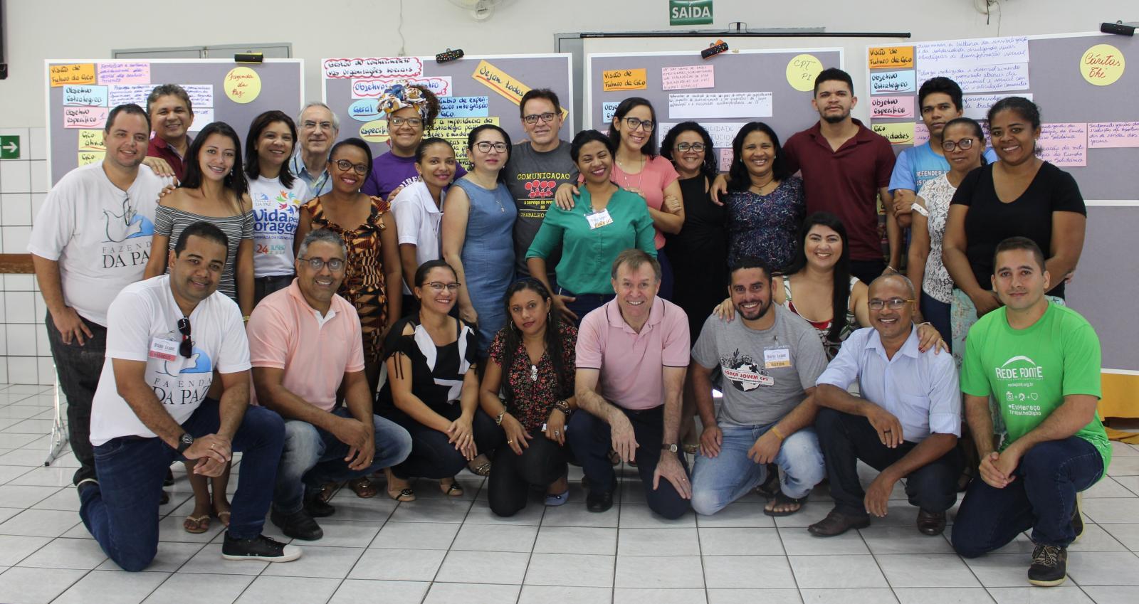 Organizações da Rede Ponte participam de oficina de Gestão do Conhecimento (5º dia)