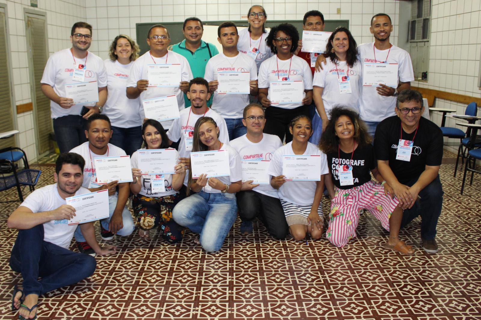Egressos do IComradio participam da segunda etapa do Curso de Formação de Formadores
