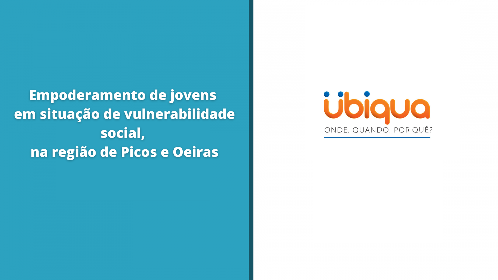 Projeto Jovens Radialistas: descrição de um caso de empoderamento de jovens em situação de vulnerabilidade social, na região de Picos e Oeiras